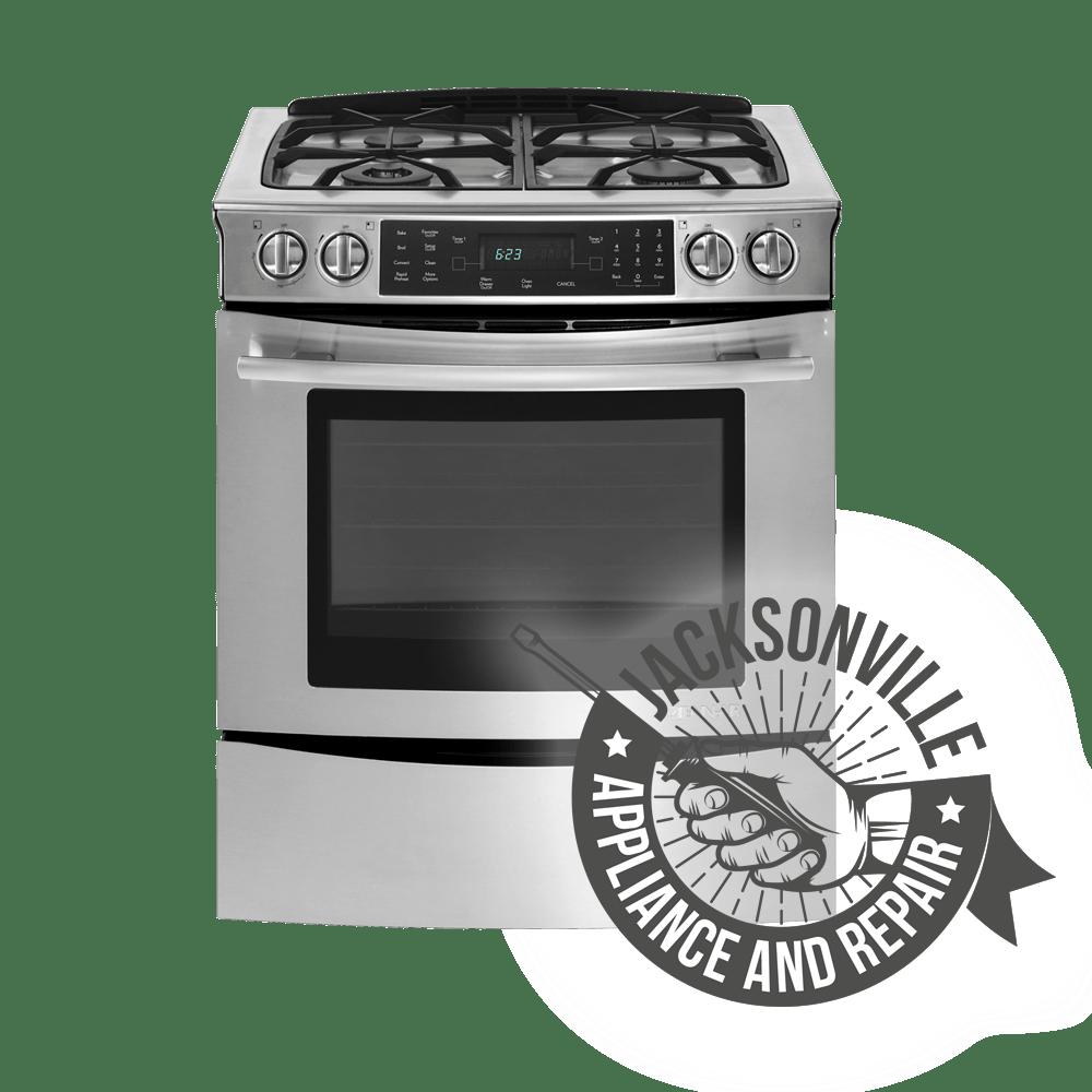 Gas Range Repair Service Oven Repair Jacksonville Appliance And Repair